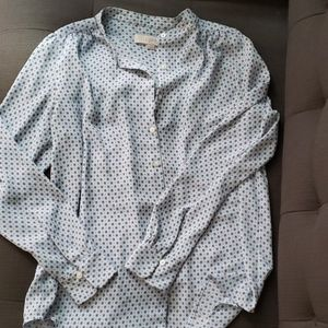 Button down rayon blouse